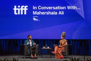 TIFF 2018 ICW. Mahershala Ali and Amanda Parris. Photo by Rick Clifford