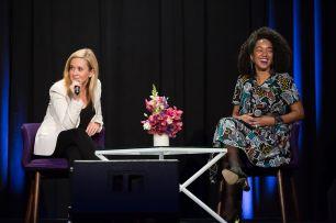 Amanda and Samantha Bee at The Exchange 2020